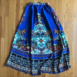 NWOT✨Boho Maxi Skirt